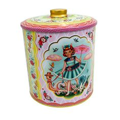 Cotton Candy Biscuit Tin now featured on Fab.  Just soooo gorgeous. Who can I buy it for???