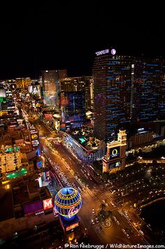 Las Vegas Strip. You can never get tired of Vegas....it's different every time you go:)
