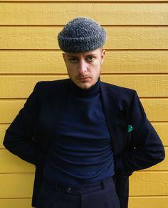 Gareth Peck by Alida.  4x1 suit found at thrift store in Norway. Turtleneck by Samsøe & Samsøe.