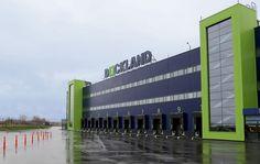 Dockland logistics terminal.