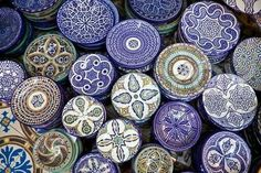 Plates from Morocco ♡