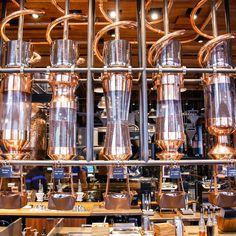 Inside Starbucks' new Willy Wonka-esque Reserve Roastery