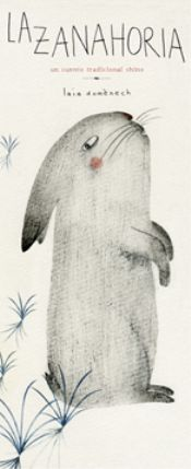Versión de un cuento tradicional chino que ganó el primer premio Eva Tolrà de ilustración 2014. En un bosque inexplorado, un conejo encuentra un día una enorme zanahoria. Pero precisamente ese día el conejo está satisfecho y no tiene hambre. ¿Qué puede hacer con su magnífico hallazgo? Lo primero que se le ocurre es dársela a otro animal del bosque: al águila, que ha tenido polluelos y seguramente necesita ayuda. Pero...