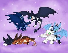 Httyd Dragons, Cute Dragons, Night Fury Dragon, Baby Night Light, Mythical Creatures Art, Toothless Dragon, Dragon Artwork, Small Drawings, Dragon Games
