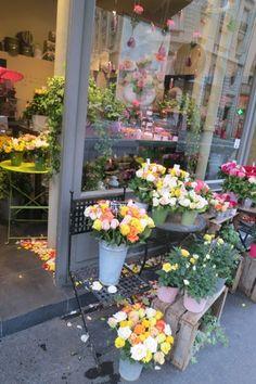 Flower shops in Paris