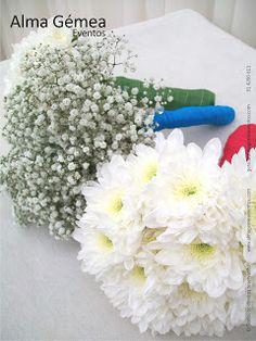 DECORAÇÃO CASAMENTO / Bouquets damas de honor.