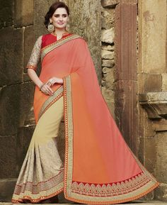 Buy Well Formed Multi Fashion Saree online at  https://www.a1designerwear.com/well-formed-multi-fashion-sarees  Price: $66.76 USD