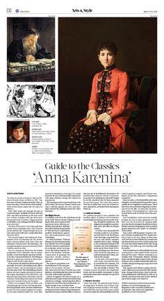 Guide to the Classics 'Anna Karenina'|The Epoch Times #Arts #newspaper #editorialdesign
