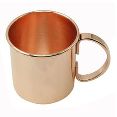 Mule Copper Mugs Practical Heat Insulation Cup Copper Cups, Copper Moscow Mule Mugs, Kitchen Supplies, Drinkware, Insulation, Tea Cups, Plating, Stuff To Buy, Casual Outfits