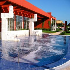 The Thalasso saltwater spa pool at the luxury Zoetry Paraiso Resort in Riviera Maya#simple pleasures
