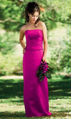 Fuschia wedding party....absolutely magnificent.