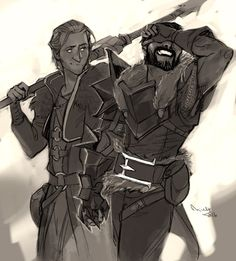 Dragon Age II - Anders and Hawke