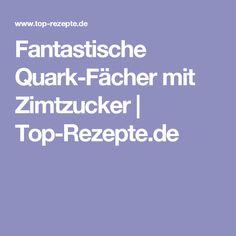 Fantastische Quark-Fächer mit Zimtzucker   Top-Rezepte.de
