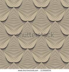 Stock Images similar to ID 125991674 - organic geometric art deco...