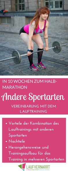 Wie lassen sich eigentlich andere Sportarten mit dem Lauftraining (im Halbmarathon) vereinbaren? Alles über die Vor- und Nachteile und Möglichkeiten beim Training mehrerer Sportarten parallel.