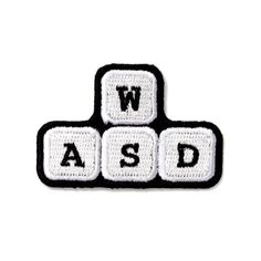 WASD Patch from These Are Things