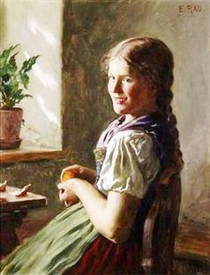 Emil Rau (1858-1937) Германия