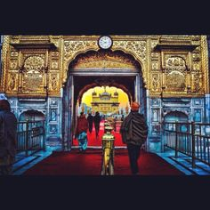 Top my list as well! Neat effect. Harmandir Sahib aka The Golden Temple, Amritsar, India. The most sacred and holiest shrine of Sikhism