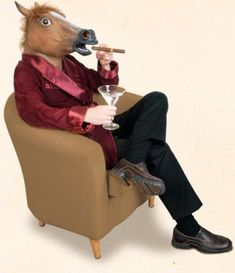 Realistic Horse Head Mask | $19.67