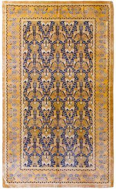 Alfombra Española Alcaraz.Alfombras Hamid, colección de alfombras españolas. Réplica de alfombra española del siglo XVIII de Alcaraz con una densidad del orden de 120.000 nudos m2.