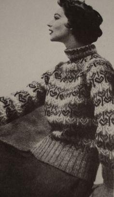 1950's knit
