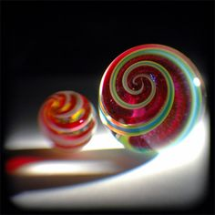 red marbles by valcox, via Flickr