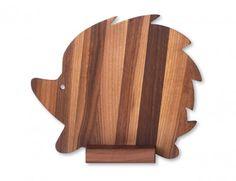 tagliere legno riccio