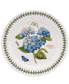 Portmeirion Dinnerware, Botanic Garden Blue Hydrangea Dinner Plate - Casual Dinnerware - Dining & Entertaining - Macy's