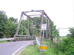 Old Truss Bridge on Aden Road, Nokesville, Virginia ~ I cross this bridge to go into Manassas.