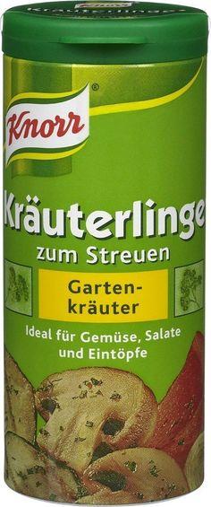 Knorr Garden Herbs Seasoning Mix (Knorr Kräuterlinge Gartenkräuter), 2.1oz (60g)