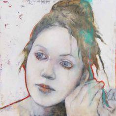 Joan Dumouchel - Contemporary Artist - Figurative Painting - Être