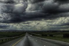 Driving into Johannesburg on Saturday  we were greeted with this gloomy sky. #gloom #moody #hdr #clouds #joburg #southafrica #sky