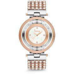 Ceasuri Dama :: CEAS FREELOOK F.4.1007.04 - Freelook Watches Watches, Gold Watch, Bracelet Watch, Swarovski, Bracelets, Silver, Accessories, Bangles, Wristwatches