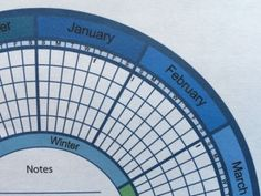 circular homestead calendar