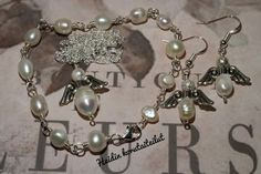 Heidin korutaiteilut: Makeanvedenhelmet ja hopeaa Wire Wrapping, Diy Jewelry, Bracelets, Bracelet, Arm Bracelets, Bangle, Bangles, Anklets, Diy Jewelry Making