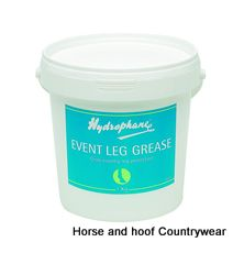 Hydrophane Event Leg Grease Formulated to protect horses legs during the rigours of cross-country events Stays firmly in place during competition
