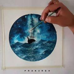 WEBSTA @ watercolor.illustrations -  Watercolorist: @prak3rsh#waterblog #акварель #aquarelle #painting #drawing #art #artist #artwork #painting #illustration #watercolor #aquarela
