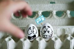 Funny Eggs | Funny Eggs Painting Art | Digital Concepts, Modern Design