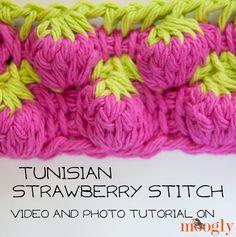 Tunisian Strawberry Stitch...instructions