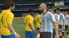 Brazil vs Argentina | International Friendly Match HD PC Gameplay PES 20...