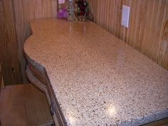 Concrete bath room vanity top