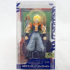 Dragon Ball Z Saiyan Gogeta Box Figure Collection Banpresto JAPAN ANIME