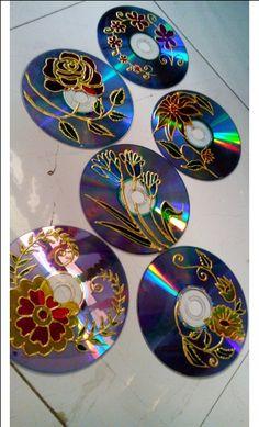 CD Tea coaster