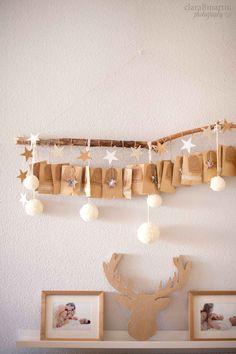 Calendario de Adviento DIY - Advent Calendar DIY