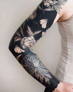 Tatouage bras entier – le tattoo version manche longue