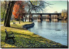 Island Park, Geneva, Illinois by Theresa*, via Flickr