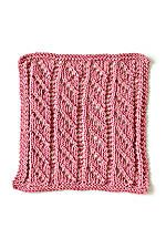 Washcloth for pattern practice