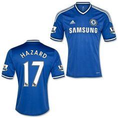 My new favorite kit  2013-14 Chelsea FC  17 Eden Hazard Eden Hazard 286fc7bab