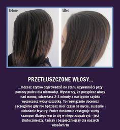 Odśwież+przetłuszczone+włosy+bez+ich+mycia+-+Zobaczcie+jak!!! Healthy Women, Healthy Tips, Diy Beauty, Beauty Hacks, Mini Vacation, Healthy Lifestyle Changes, Good Advice, Diy Hairstyles, Your Hair