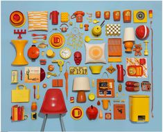 Photographer Jim Golden clearly has a knack for the still life. His graphic collections of themed objects, styled by Kristin Lane, double as a myriad of things: an abstract collage, a visual checklist, a beautiful display case or a deconstructed how-to guide. Golden, who worked as a high-end compositor and visual effects specialist in New York for several years, now lives in Portland and operates a full-service photography and digital imaging studio.